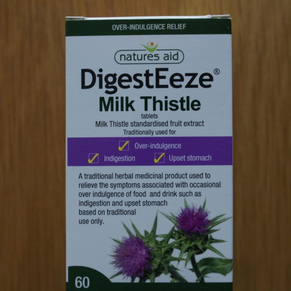 Natures Aid Milk Thistle 60 tablets 1