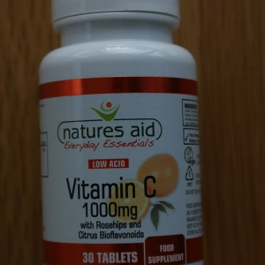 Natures Aid Vitamin C 1000mg 30 tablets Low Acid