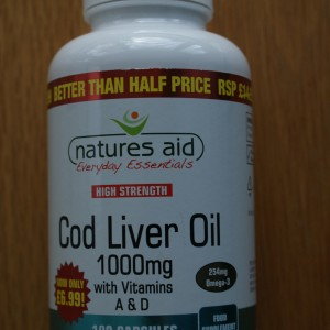 Natures Aid High Strength Cod Liver Oil 1000mg