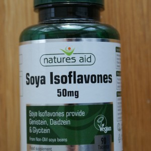 Natures Aid Soya Isoflavones 50mg 90 tablets