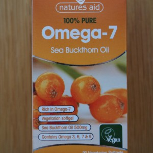 Natures Aid Sea Buckthorn Oil 500mg (Omega 7)