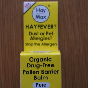 HayMax Organic Drug-Free Pollen Barrier Balm 5ml