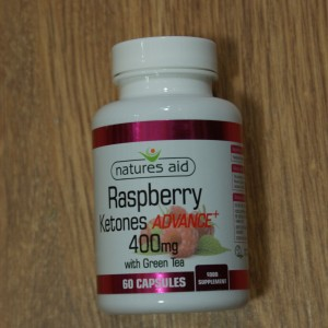 Natures Aid Raspberry Ketones Advance 400mg + green tea 60 caps