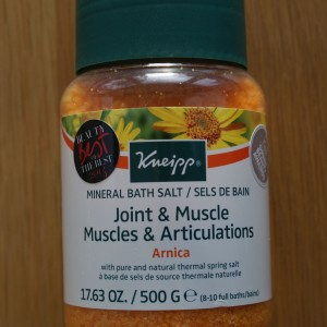Kneipp Arnica Joint & Muscles Mineral Bath Salt 500g