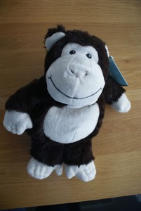 Cozy Plush Heatable Monkey