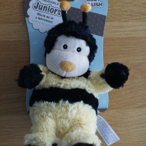 Cozy Plush Heatable Junior Bee