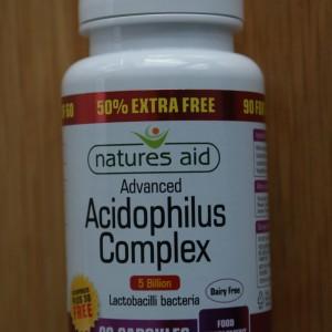 Natures Aid Acidophilus 90 capsules