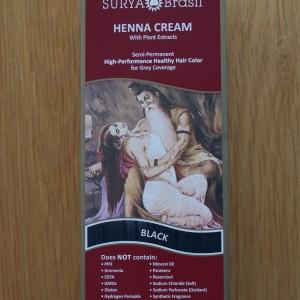 Surya Brasil Black Henna Cream 2.31fl.oz/70ml