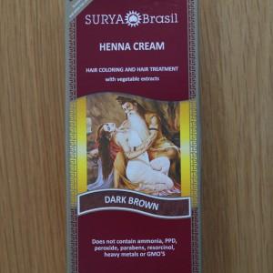 Surya Brasil Dark Brown Henna Cream 2.31fl.oz/70ml