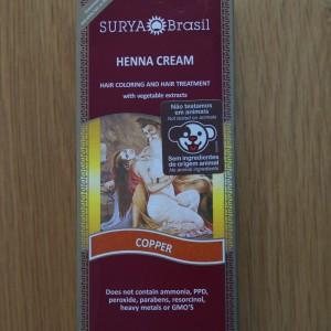 Surya Brasil Copper Henna Cream 2.31fl.oz/70ml