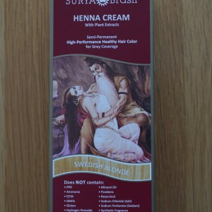 Surya Brasil Swedish Blonde Henna Cream 2.31fl.oz/70ml
