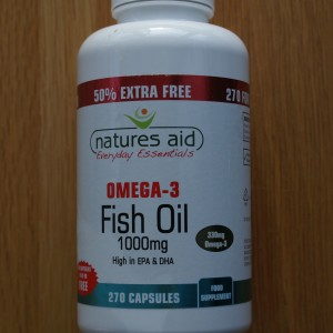 Natures Aid Omega 3 Fish Oil 1000mg 270 capsules