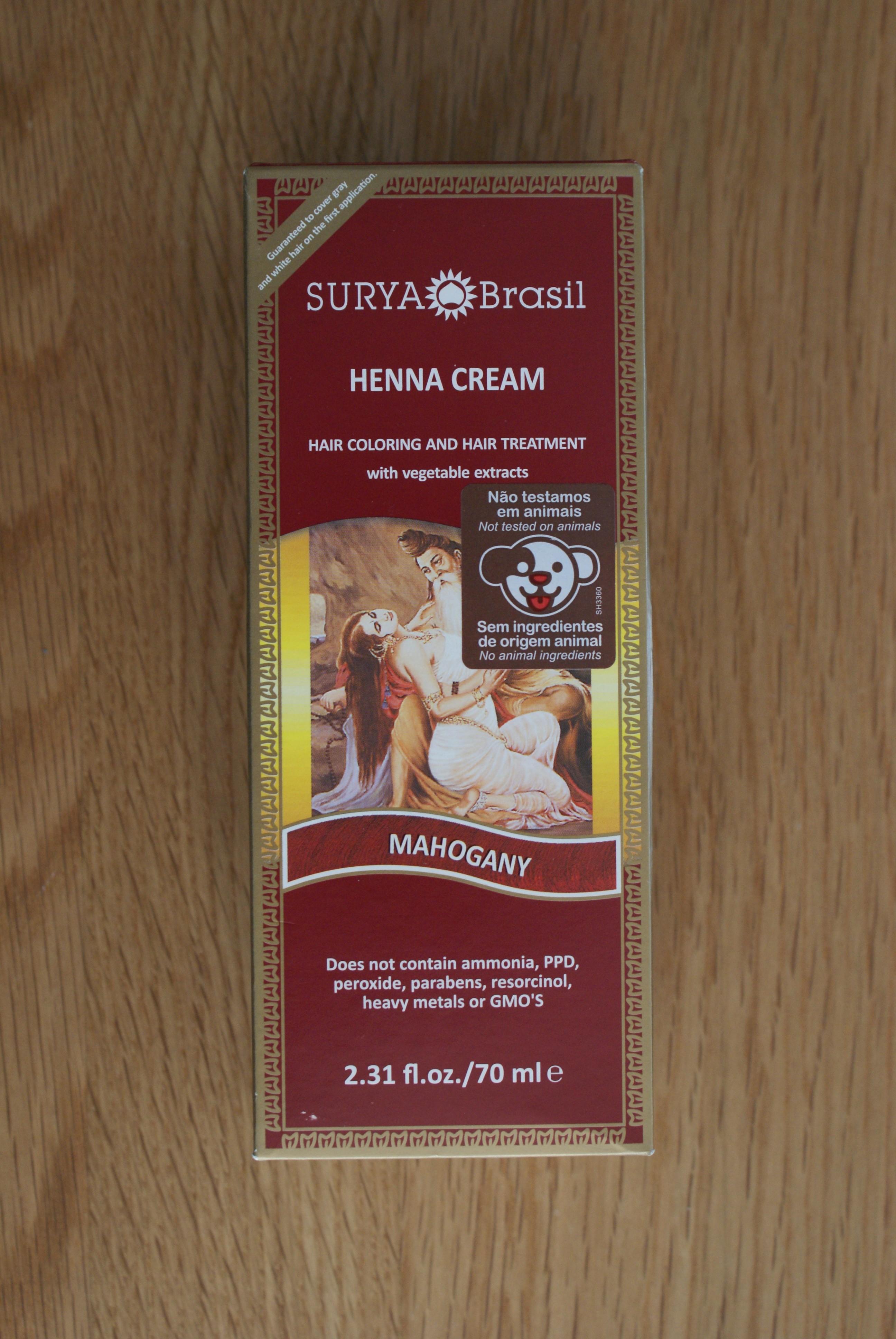 575dfe5605fa5 Surya Brasil Mahogany Henna Cream 2.31 fl.oz/70ml – Fine Fettle Foods