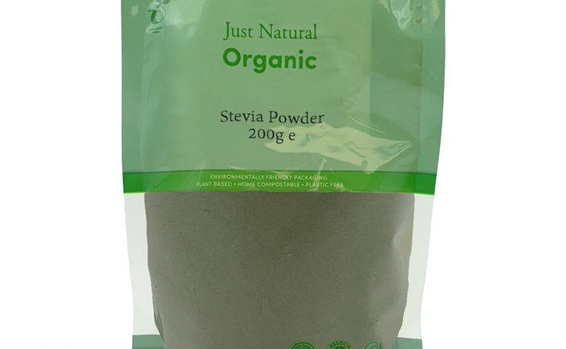 New in stock! Just Natural Organic Stevia Leaf Powder
